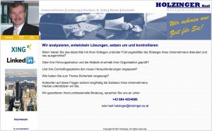 Alte Website